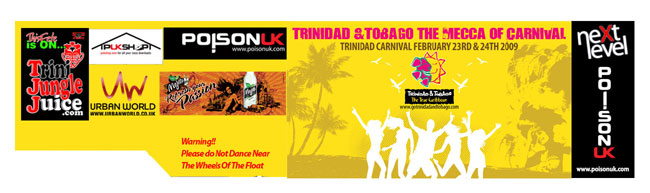 Trinidad Carnival Banners Channel Banners